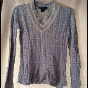 LAUREN RALPH LAUREN 100% Silk knit Sweater Size S